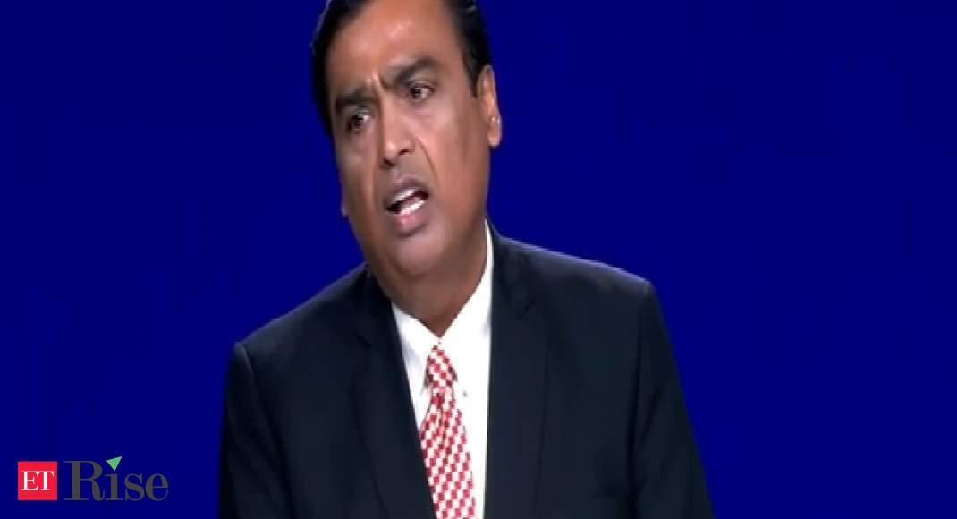 Every entrepreneur in India has the potential to be a Dhirubhai Ambani or Bill Gates: Mukesh Ambani