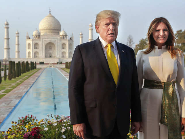 After Dwight David Eisenhower (1959) and Bill Clinton (2000), Trump became the third US president to visit the architectural icon.
