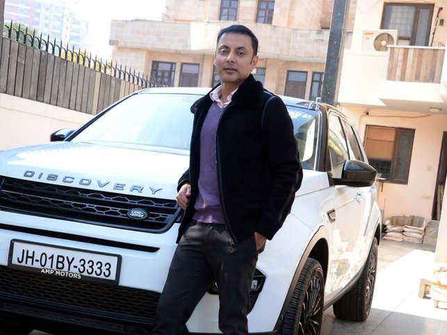 Vicram Sharma, director, Baidyanath Ayurved Bhavan has always loved cars and driving.