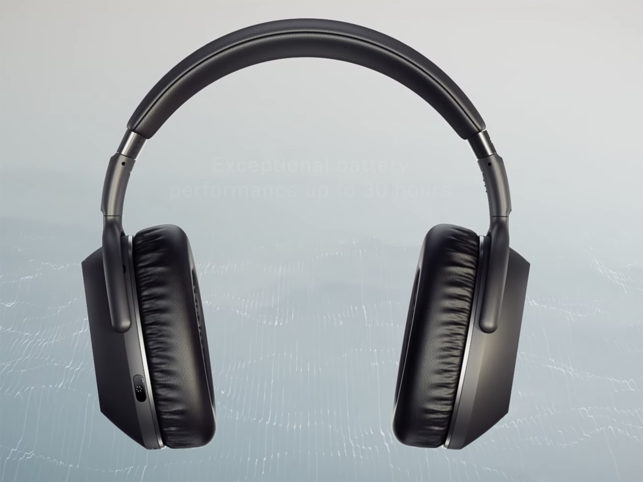 At 227 grams, the headphones pack in a mixture of plastic and synthetic.