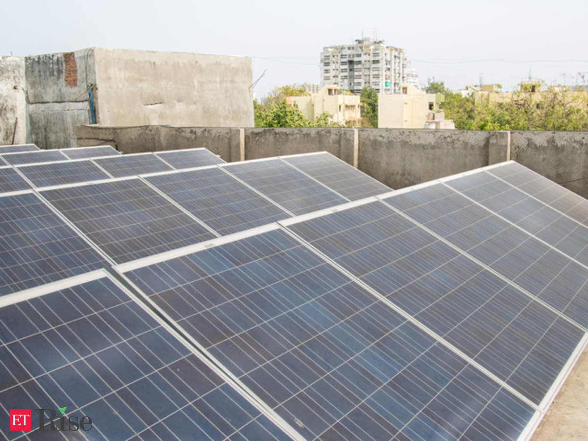 1 kW rooftop solar installation price drops to Rs 22,000 - The Economic  Times