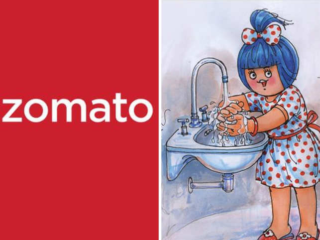 Zomato and Amul India sent out precautionary tweets in the wake of coronavirus outbreak in India.