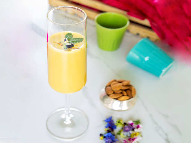This healthy thandai won't ruin your diet plans on Holi
