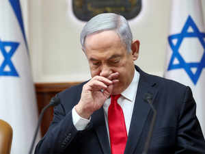 virus netanyahu reuters