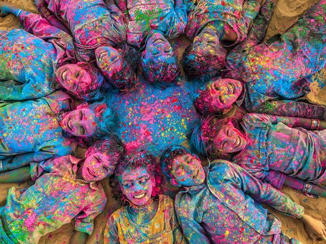 Holi 2020: Coronavirus impacts Holi celebrations across India - Holi hai! |  The Economic Times