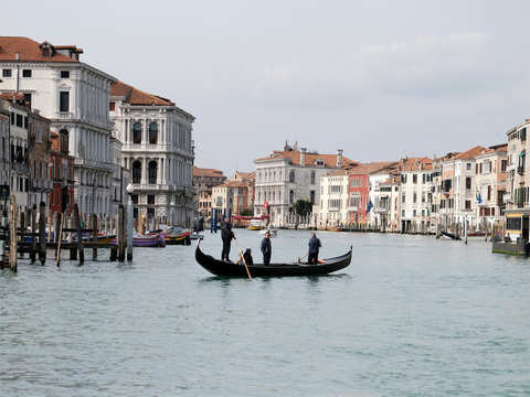 Deserted Grand Canal