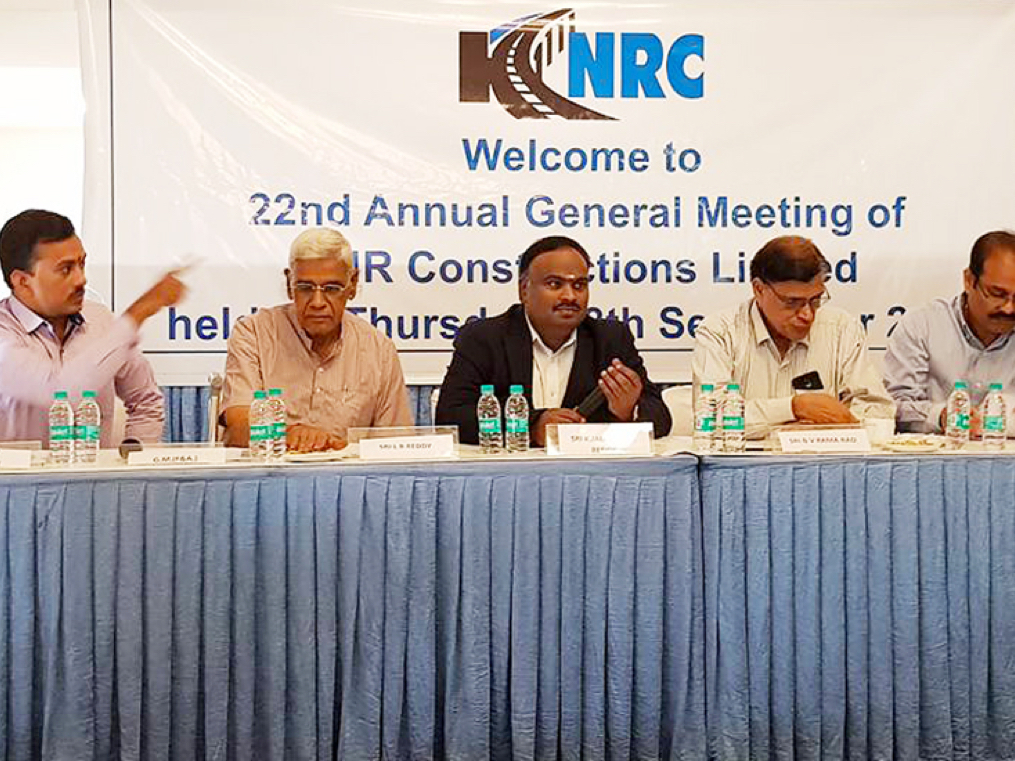 Small and steady wins the race: how KNR Constructions became the only infra company to beat Nifty50