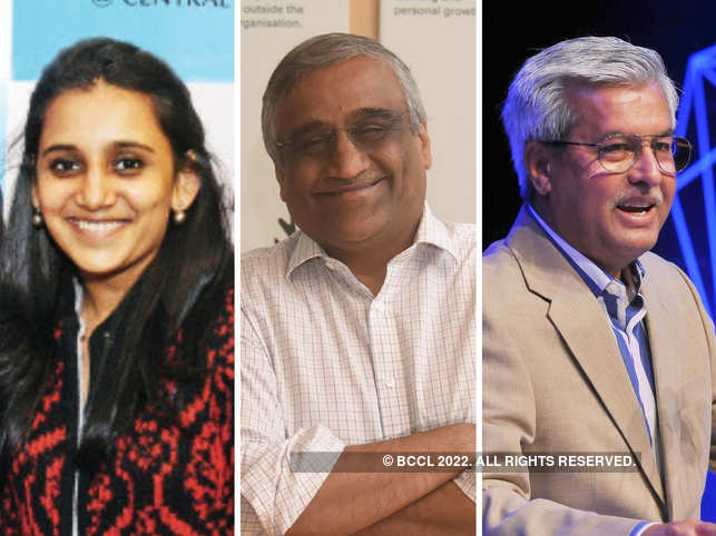​(L-R) Father-daughter duo Avni and Kishore Biyani smiling in times of coronavirus, and who's who the political world were seen lunching with the feisty friend Dushyant Dave .​