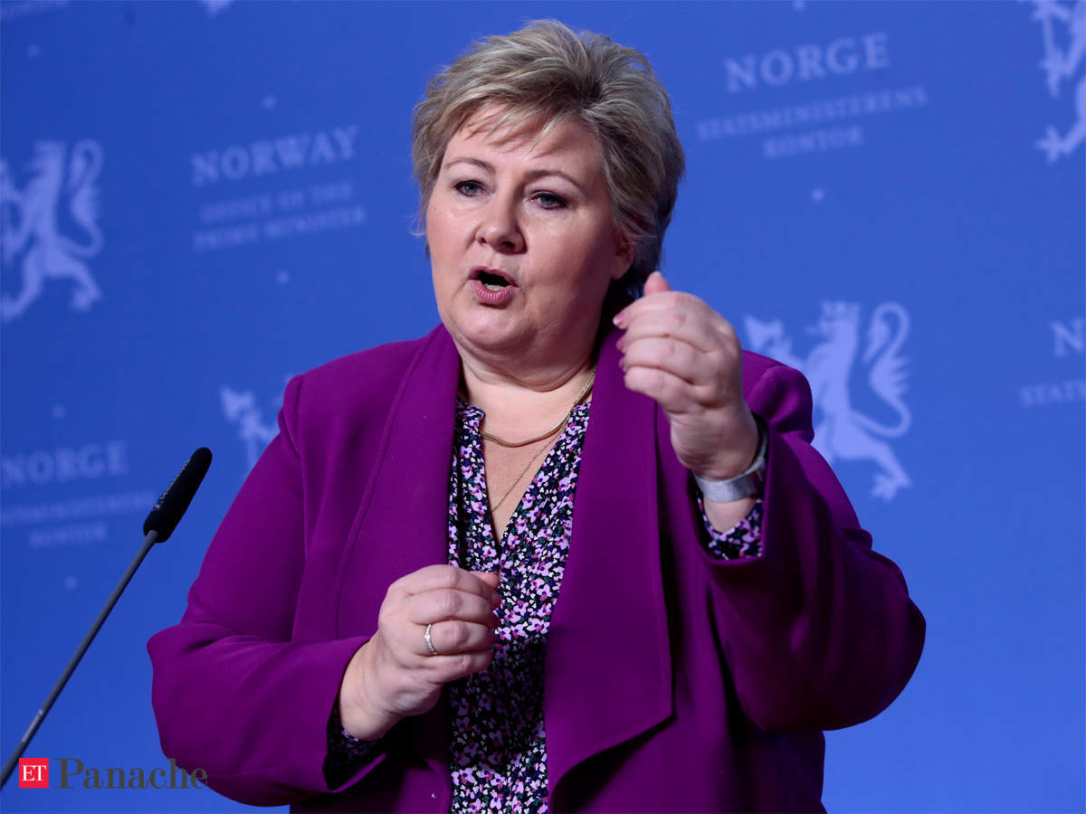 It Is Ok To Feel Scared Norway Pm Tells Kids Amidst Coronavirus Outbreak The Economic Times