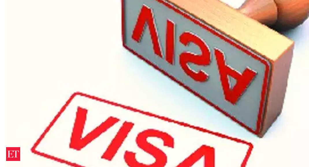 Us Visa Visa Freeze By Us Embassy Due To Coronavirus May Ground Indian It Companies The Economic Times