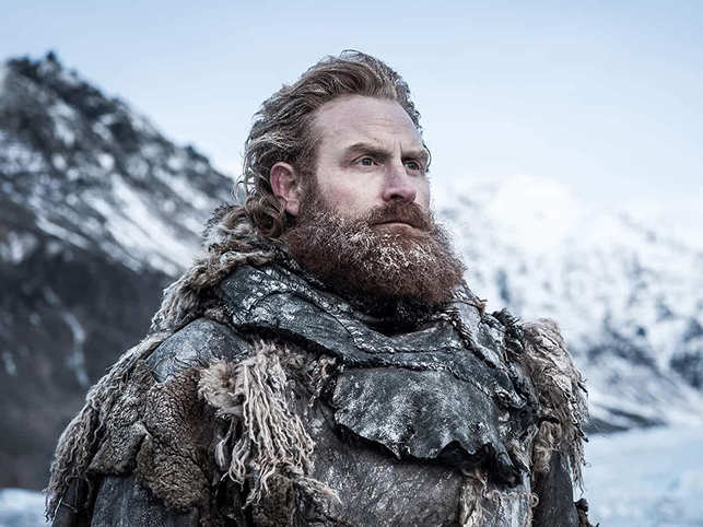 Kristofer Hivju Game Of Thrones Tormund Giantsbane All Our Masks Pre-cut