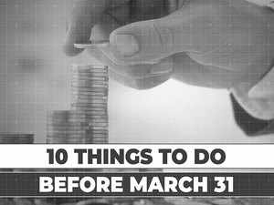 Complete these money tasks before March 31