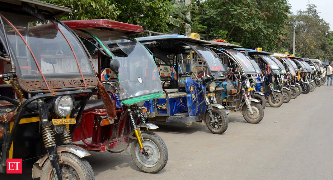 Several cities block electric rickshaw registrations