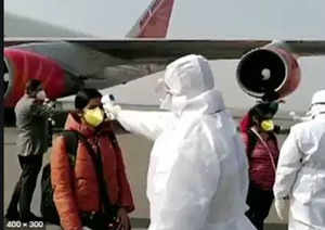 Coronavirus: 277 Indians evacuated from the Middle East
