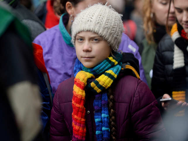 Thunberg had self isolated because she had visited countries hit by coronavirus infection.