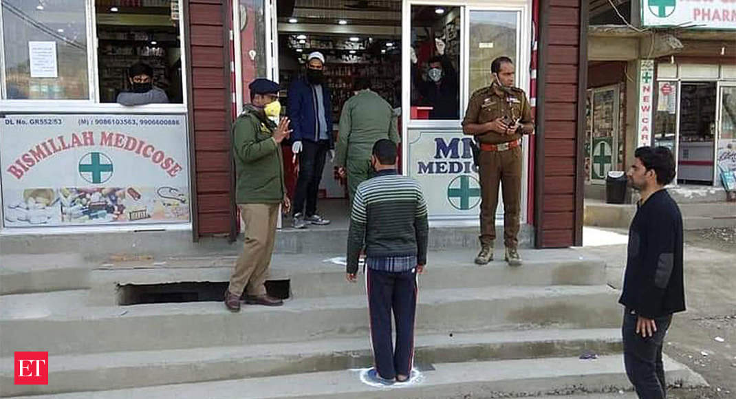 Chemists start home delivery in Kashmir, supply chain hit due to lockdown