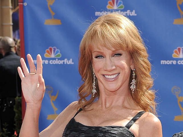 Kathy Griffin Hospitalized With 'PAINFUL' Coronavirus Symptoms & Slams Donald Trump Over Lack
