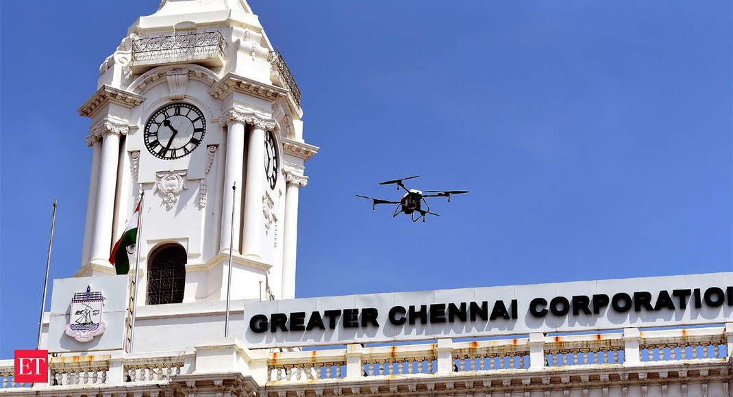 Covid-19: Drones used to enforce lockdown, more booked for violating prohibitory orders