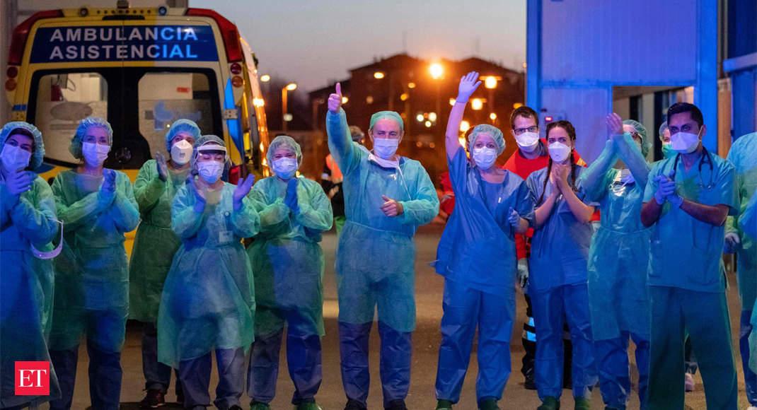 Spain coronavirus death toll tops 4,000