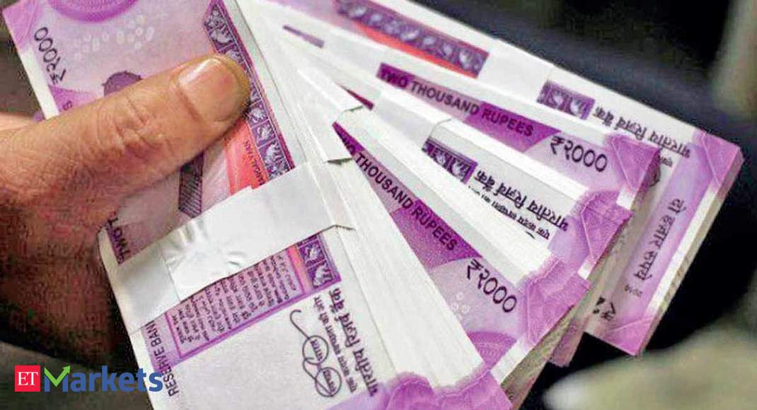 Rupee settles 27 paise higher at 74.89/$