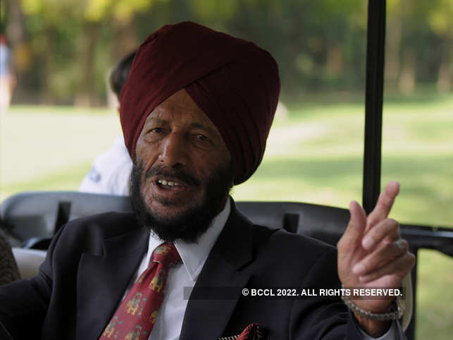 Milkha Singh has been exercising at home during this lockdown period. 