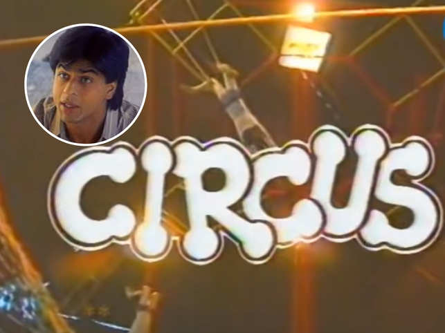 'Circus' marked Shah Rukh Khan's entry into the entertainment industry