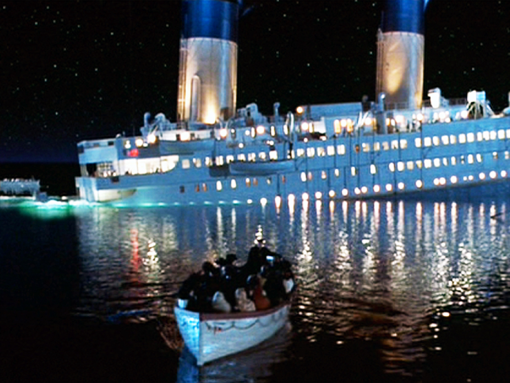 The cruise-liner industry is in the deep end. There is hope because this industry recovered from the Titanic disaster too.