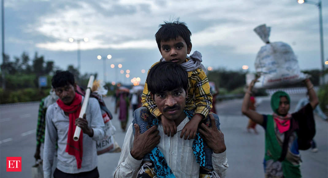 Coronavirus lockdown: 'How long will we survive with no work, little money?', ask migrant workers