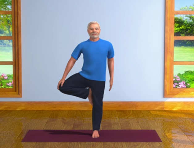 Now you can practise 'Yoga with Modi' during lockdown; PM shares fitness routine on Twitter