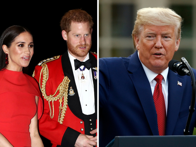 meghan markle prince harry meghan say don t need u s help for security costs after trump tweets the economic times meghan markle prince harry meghan say