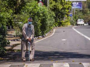 virus india elderly getty