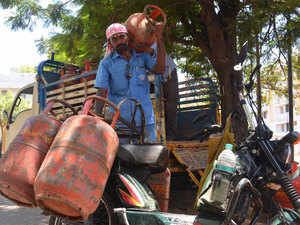 LPG cylinders cheaper by up to Rs 65, second price cut in as many months