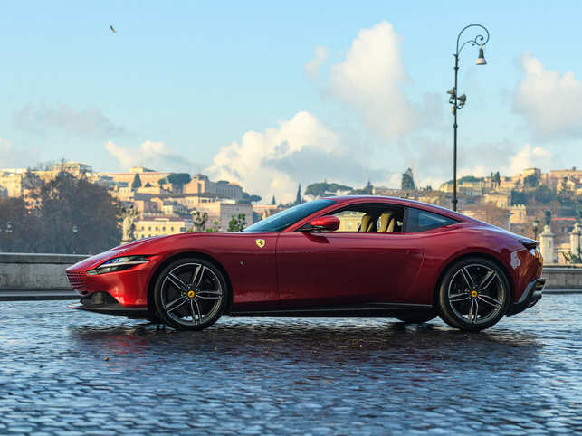 A total Ferrari production halt on March 14 included production of the 611-horsepower, V8 Roma, which was supposed to roll into dealerships toward the end of the year.