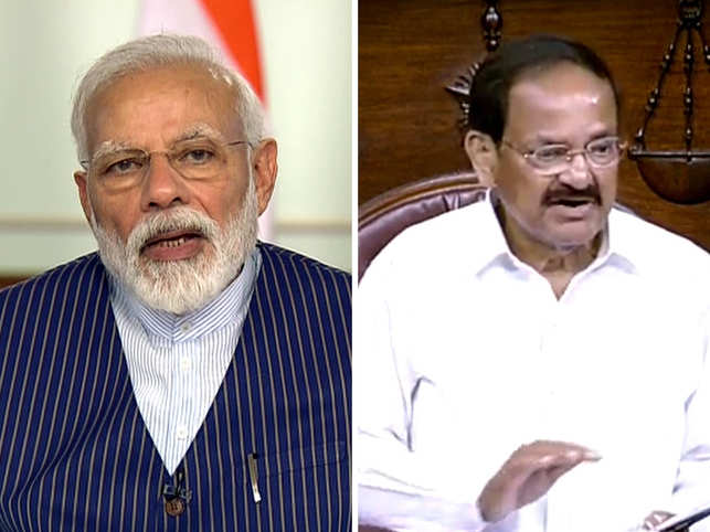 PM Modi and Venkaiah Naidu laud health care workers on World Health Day.