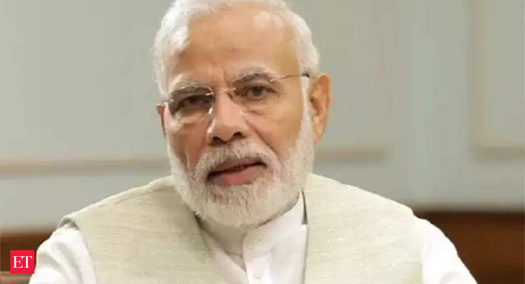 PM Narendra Modi interacts with floor leaders of political parties on coronavirus