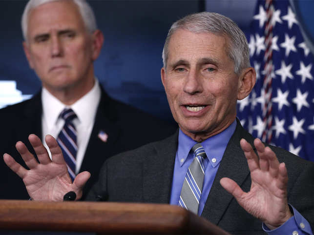 Dr. Fauci Doesn't Think Americans Should Ever Shake Hands Again