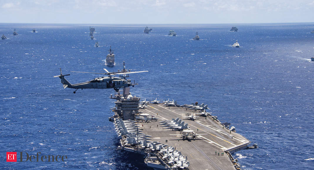 More than 10% of US carrier's crew test positive for virus: Navy