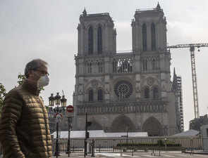 Covid lockdown hits pause on Notre-Dame's rebirth one year after fire