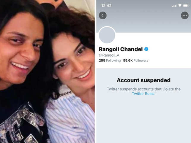 Chandel's Twitter account has been suspended for allegedly 'spreading hate'.