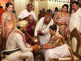 Watch: HD Kumaraswamy's son gets married in the middle of Covid lockdown, flouts social distancing norms