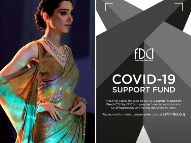 The first item to be auctioned is one of designer Manish Malhotra's most popular sequinned saris and the bidding starts at Rs 1.15 lakh.​