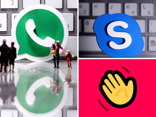 With virtual meetings becoming a norm, WhatsApp, Skype and Houseparty have become some of the most-preferred video calling apps.