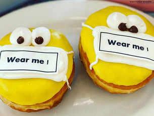 Coronavirus themed food lightens the mood