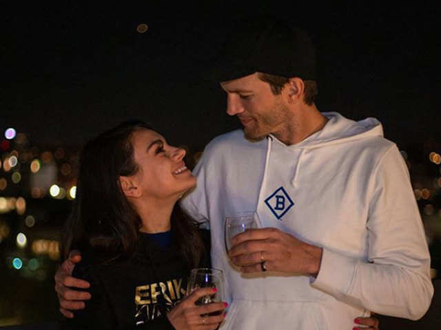 Ashton Kutcher, Mila Kunis launch 'Quarantine Wine' to raise funds for Covid relief