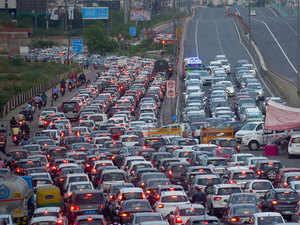 traffic-delhi
