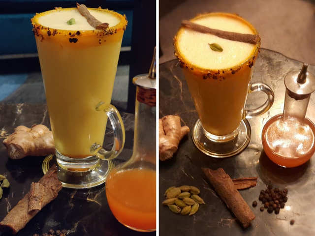 Get over Dalgona coffee! This Spice Golden Latte recipe will give you the summer feels