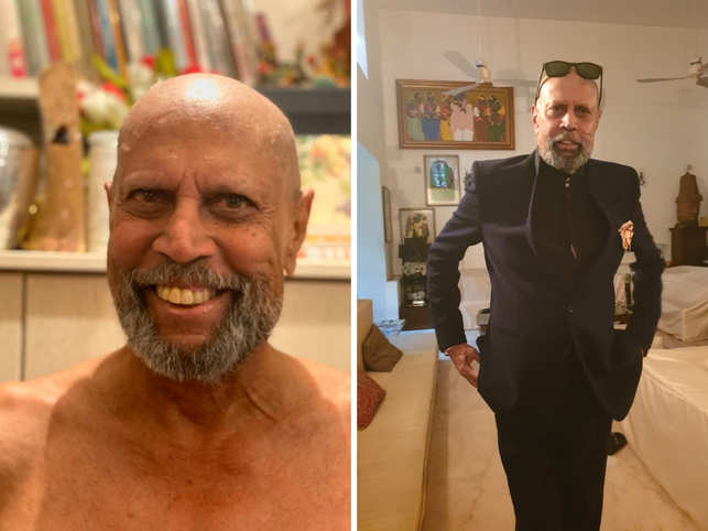 Dev's former teammate and a friend, former pacer Chetan Sharma took to Twitter to share the former cricketer's look.