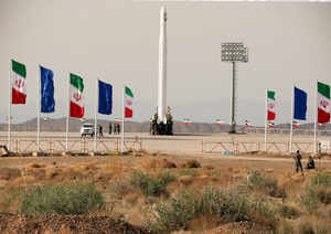 Iran reportedly claims to have put it's first military satellite into orbit