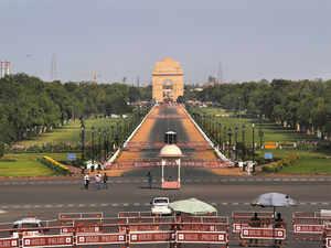 delhi pollution india gate ap