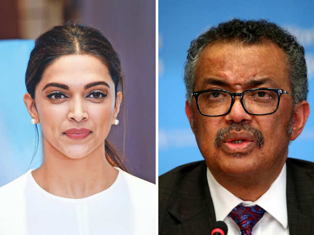 Netizens were not happy with Padukone's decision to engage with the WHO chief who has been in the eye of the storm.